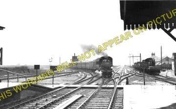 Barnham Railway Station Photo. Ford to Drayton and Bognor Lines. LB&SCR. (1)..