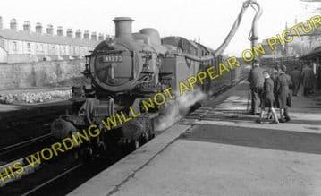 Barnoldswick Railway Station Photo. Earby Line. Midland Railway. (1)