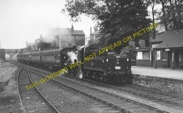 Barnoldswick Railway Station Photo. Earby Line. Midland Railway. (3)