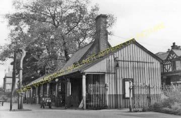 Barnoldswick Railway Station Photo. Earby Line. Midland Railway. (6)
