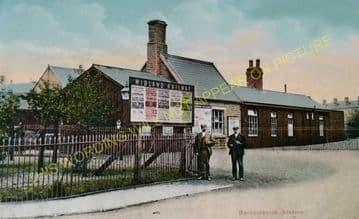 Barnoldswick Railway Station Photo. Earby Line. Midland Railway. (9)