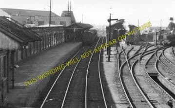 Barnsley Exchange Railway Station Photo. Lancashire & Yorkshire Railway. (1)