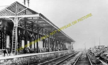 Barnsley Exchange Railway Station Photo. Lancashire & Yorkshire Railway. (2)