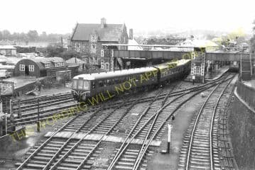 Barnstaple Junction Railway Station Photo. Chapleton to Ilfracome. (19)