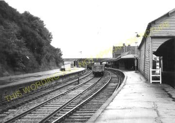 Barnstaple Junction Railway Station Photo. Chapleton to Ilfracome. (21)