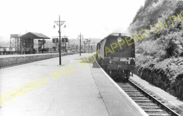 Barnstaple Junction Railway Station Photo. Chapleton to Ilfracome. (26)
