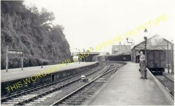 Barnstaple Junction Railway Station Photo. Chapleton to Ilfracome. (29)