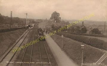 Barnt Green Railway Station Photo. King's Norton to Alvechurch and Blackwell (11)