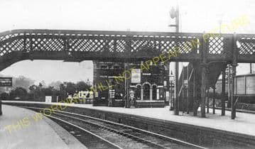 Barnt Green Railway Station Photo. King's Norton to Alvechurch and Blackwell (15)