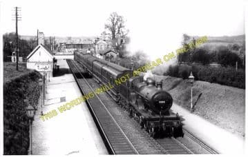 Barnt Green Railway Station Photo. King's Norton to Alvechurch and Blackwell (4)