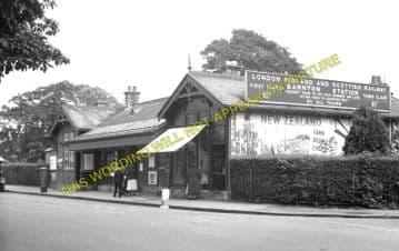 Barnton Railway Station Photo. Davidsons Main and Craigleith Line. (2)