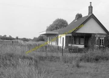 Barnwell Railway Station Photo. Thorpe to Oundle. Thrapston & Wansford Line (4)