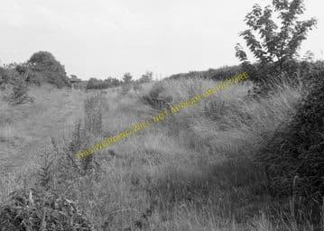Barnwell Railway Station Photo. Thorpe to Oundle. Thrapston & Wansford Line (9)