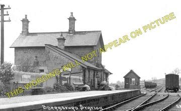 Barrasford Railway Station Photo. Chollerton - Wark. Hexham to Reedsmouth. (1)..
