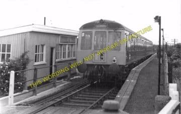 Barrow Haven Railway Station Photo. New Holland - Barton. Great Central Rly. (2)