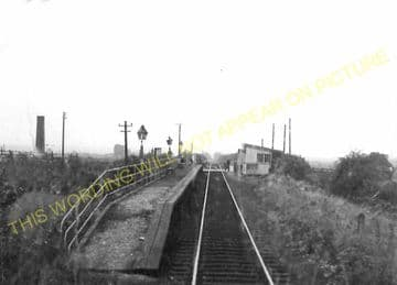 Barrow Haven Railway Station Photo. New Holland - Barton. Great Central Rly. (5)