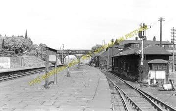Barrow Hill & Staveley Works Railway Station Photo. Whittington - Eckington (1)