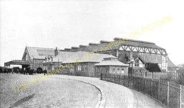 Barrow-in-Furness Railway Station Photo. Furness Railway. (9)