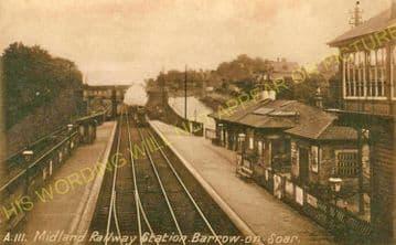 Barrow-on-Soar & Quorn Railway Station Photo. Loughborough - Sileby. (11)