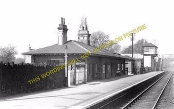 Barrow-on-Soar & Quorn Railway Station Photo. Loughborough - Sileby. (2)
