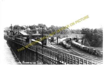 Barrow-on-Soar & Quorn Railway Station Photo. Loughborough - Sileby. (4)