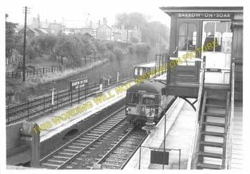 Barrow-on-Soar & Quorn Railway Station Photo. Loughborough - Sileby. (9)