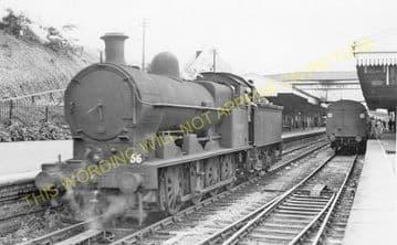 Barry Island Railway Station Photo. Cadoxton - Rhoose. Cardiff to Aberthaw. (4)
