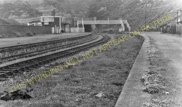 Barry Pier Railway Station Photo. Barry Railway. (12)