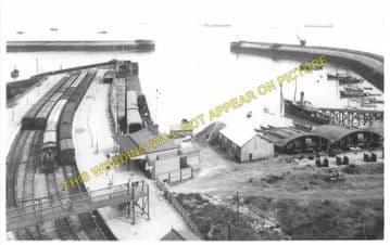 Barry Pier Railway Station Photo. Barry Railway. (4)
