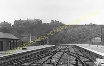 Barry Pier Railway Station Photo. Barry Railway. (8)