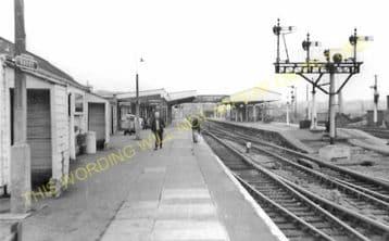 Barry Railway Station Photo. Cadoxton - Rhoose. Cardiff to Aberthaw Line (3)