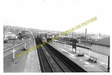 Barry Railway Station Photo. Cadoxton - Rhoose. Cardiff to Aberthaw Line (5)