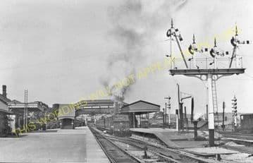 Barry Railway Station Photo. Cadoxton - Rhoose. Cardiff to Aberthaw Line (6)