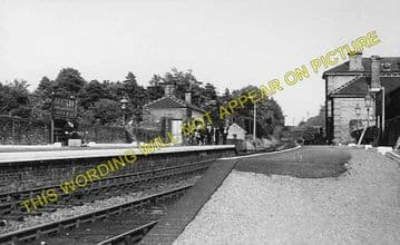 Bartlow Railway Station Photo. Linton to Haverhill and Saffron Walden Lines (1)