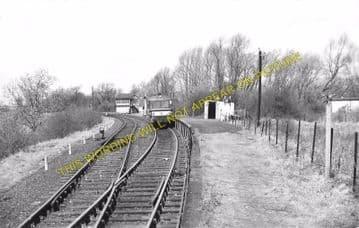 Bartlow Railway Station Photo. Linton to Haverhill and Saffron Walden Lines (3)