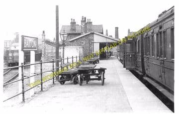 Barton-on-Humber Railway Station Photo. New Holland and Goxhill Line. (4)