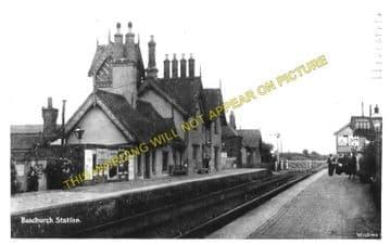Baschurch Railway Station Photo. Leaton - Rednal. Shrewsbury to Whittington (2)