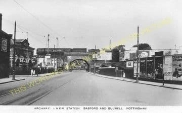 Basford & Bulwell Railway Station Photo. Daybrook - Kimberley. GNR. (3)