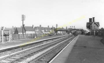 Basford & Bulwell Railway Station Photo. Daybrook - Kimberley. GNR. (6)