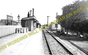 Bason Bridge Railway Station Photo. Highbridge - Edington. Burnham Line (1)..