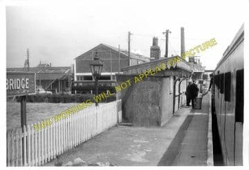 Bason Bridge Railway Station Photo. Highbridge - Edington. Burnham Line (5)