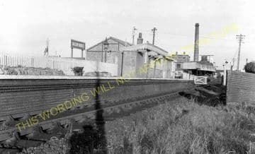 Bason Bridge Railway Station Photo. Highbridge - Edington. Burnham Line (7)