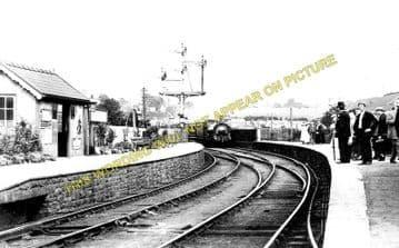 Bassaleg Railway Station Photo. Trethomas Line. Brecon & Merthyr Railway. (1)..