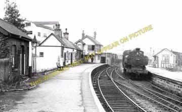 Bassaleg Railway Station Photo. Trethomas Line. Brecon & Merthyr Railway. (2)