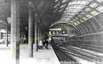 Bath Green Park Railway Station Photo. Midland/Somerset & Dorset Joint Rly (2)