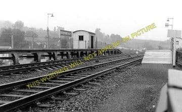 Bathford Railway Station Photo. Bathampton - Box. Chippenham Line. (1)..