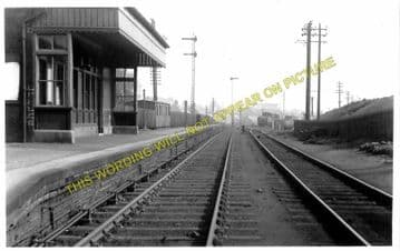 Bathgate Lower Railway Station Photo. Livingstone - Westfield. (1)