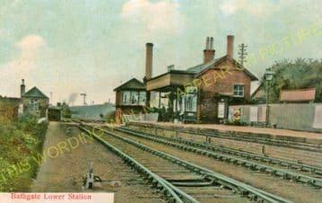 Bathgate Lower Railway Station Photo. Livingstone - Westfield. (2)