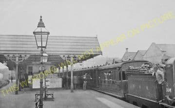 Batley Railway Station Photo. Staincliffe to Birstal and Morley Lines. (5)