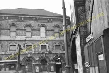 Battersea Park Railway Station Photo. Victoria to Clapham Jc and Wansworth (6)